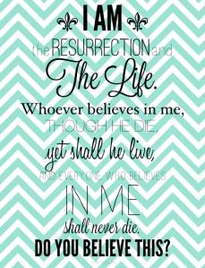 Easter verse printable