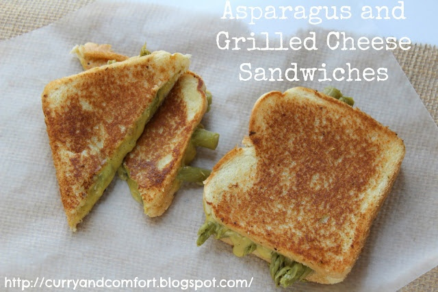 Asparagus Grilled Cheese Sandwich | Fancy Schmancy Grilled Cheese | P ...
