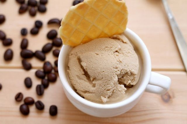 black coffee ice cream adapted from jeni s splendid ice creams at home