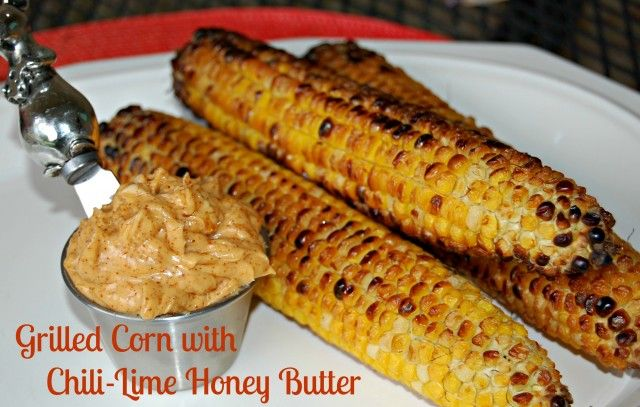 Grilled Corn with Chili-Lime Honey Butter | The Cutting Back Kitchen