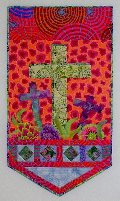 Creative Folk Quilting: Easter quilt