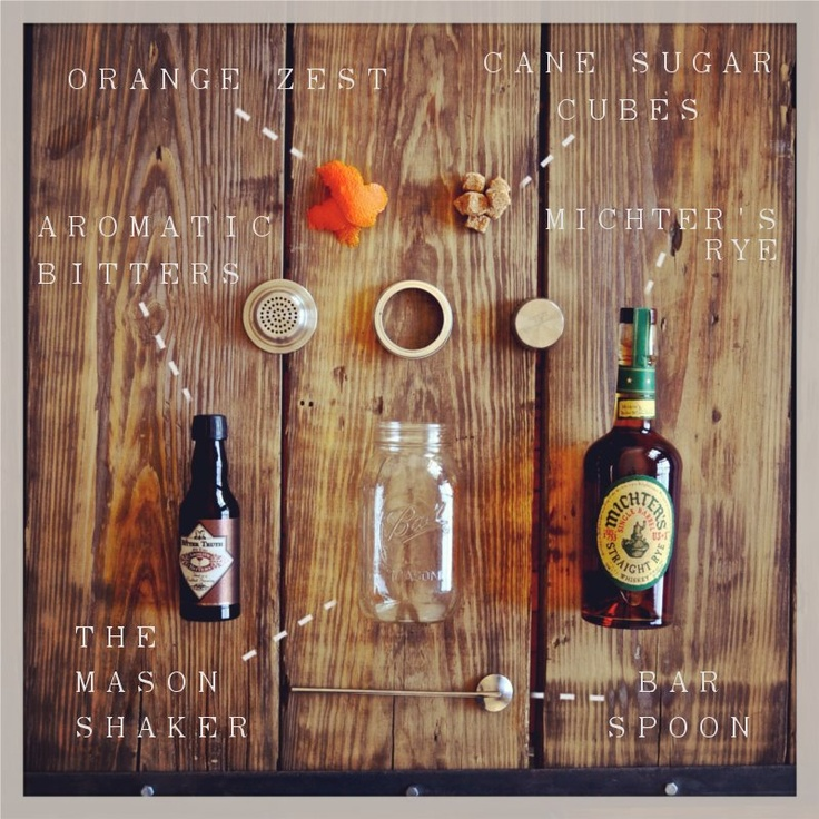 The Rye Old Fashioned // The Particulars WIth only four components ...