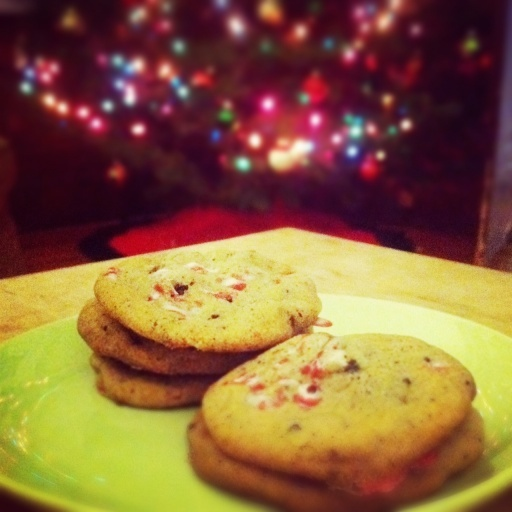 peppermint chocolate chip cookies | Favorite Recipes | Pinterest