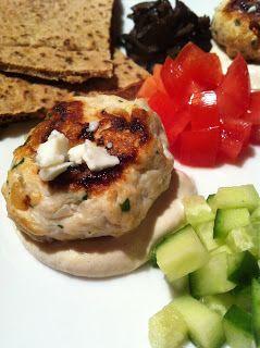 Enjoyable Me: Mini Greek Turkey Burgers | Get in my Belly: Good Eats ...