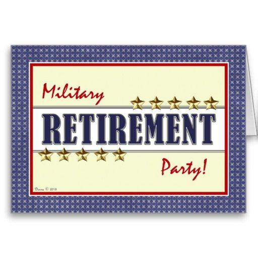 Invitations Retirement for perfect invitation design