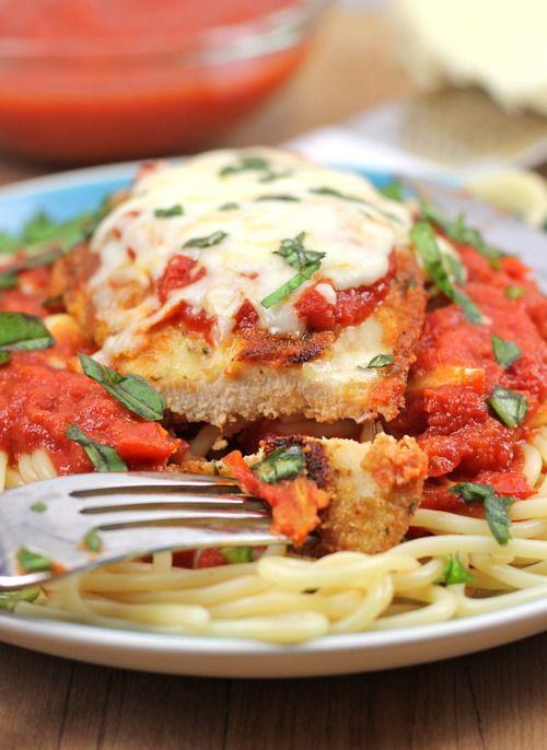 Baked Chicken Parmesan | Recipe