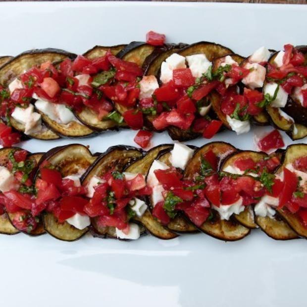 Eggplant Caprese | Kiss the Cook! | Pinterest