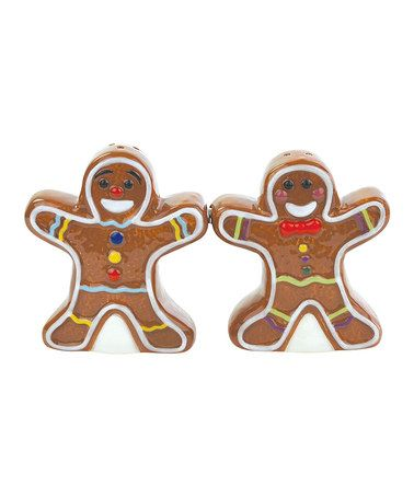 Take a look at this Gingerbread Cookies Salt & Pepper Shakers by ...