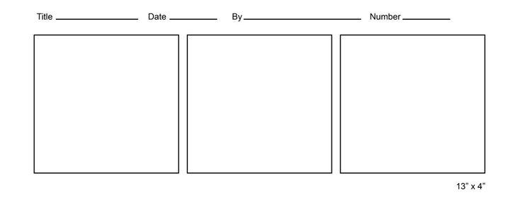 free comic strip templates useful templates pinterest