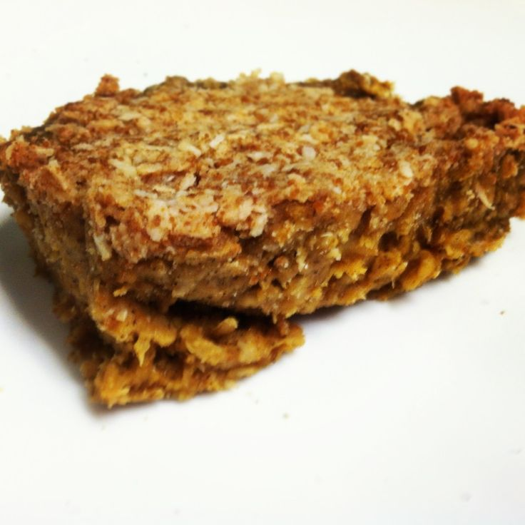 pumpkin spiced oatmeal breakfast squares | B-Fast | Pinterest
