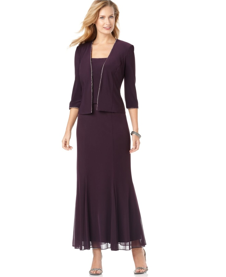 Purple Mother Of The Groom Dresses Pinterest