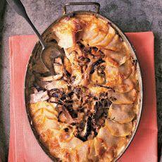 Potato-Mushroom Pie Recipe | Foodie Funtime | Pinterest