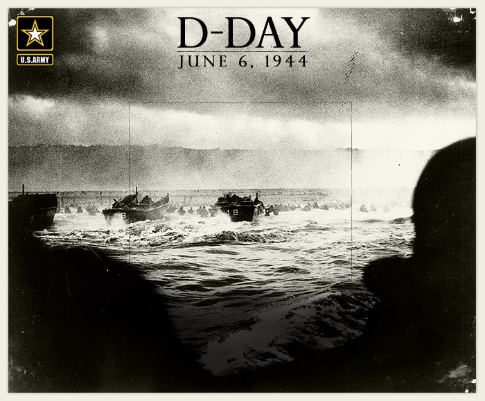 d day beaches stormed