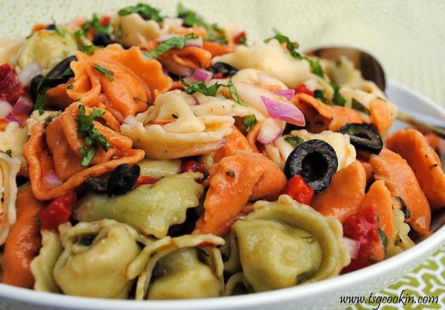 Tortellini Salad | Salads and Salad Dressings | Pinterest