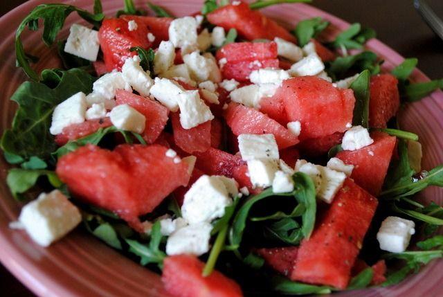watermelon feta salad | Cooking | Pinterest