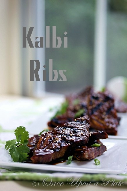Once Upon a Plate: Kalbi Beef Ribs | Recipes | Pinterest