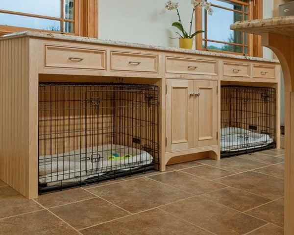 indoor dog kennel design doggie stuff pinterest