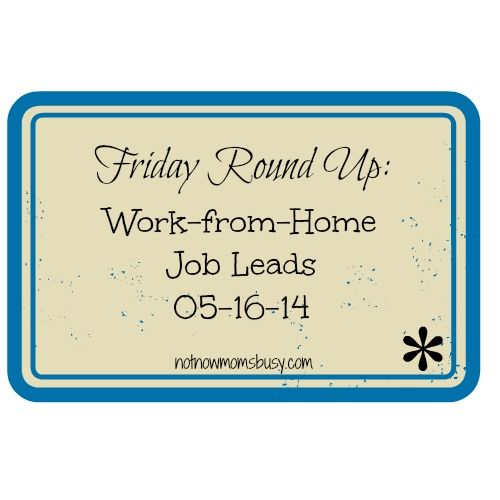 work from home jobs currently hiring