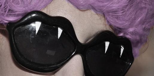 vampire sunglasses.