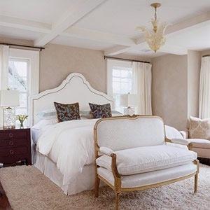 Bed Between Two Windows Master Bedroom Pinterest