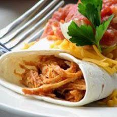 Salsa Chicken Burrito Filling   BURGERS, SANDWICHES,TACOS, WRAPS   Pi ...: http://pinterest.com/pin/560135272376503855/