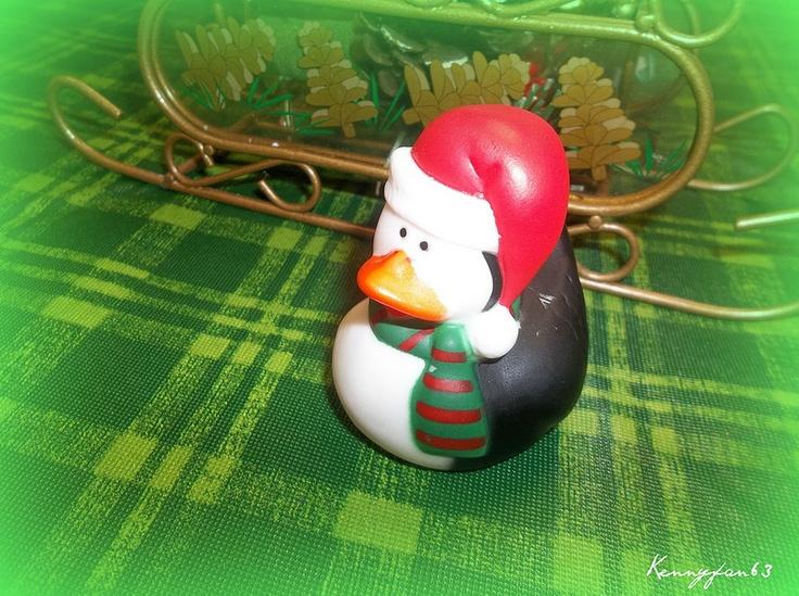 Christmas Rubber Ducks