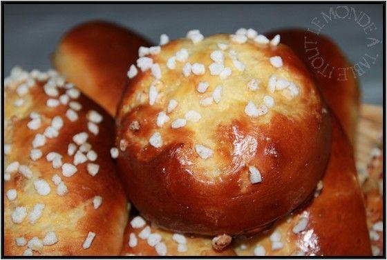 Petits pains au lait au chocolat | Recettes - pains, brioches, etc ...