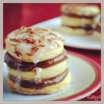 Chocolate layered biscuits | Desserts | Pinterest