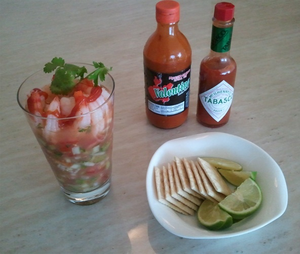 Ecuadoran Shrimp Cocktail (Cóctel De Camarones) Recipes — Dishmaps