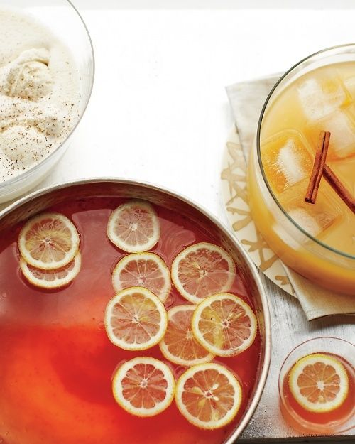 Spiced Rum Punch... i vowed never to drink rum again but this looks ...