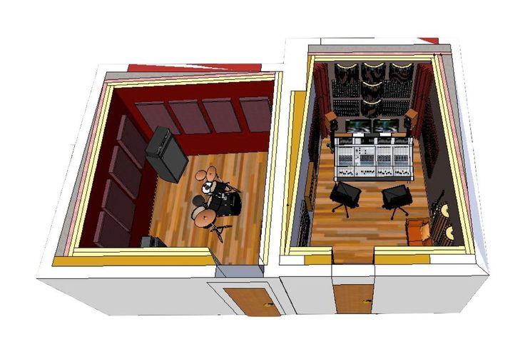 Home recording studio vince pinterest for Music recording studio layout