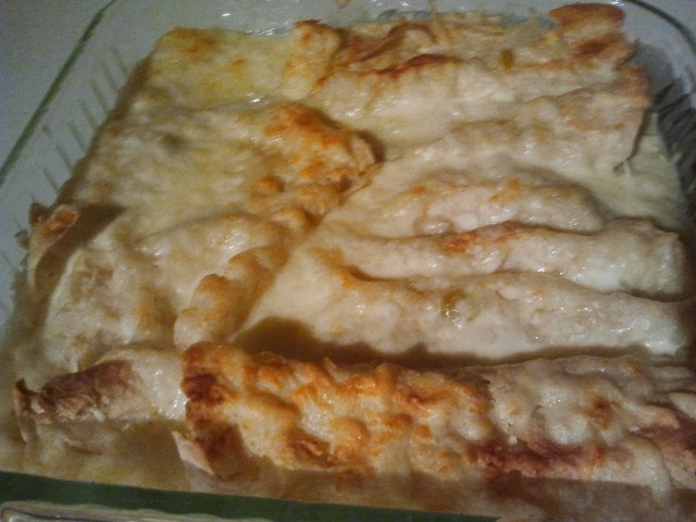 white chicken enchiladas | I did it and it turned out... | Pinterest