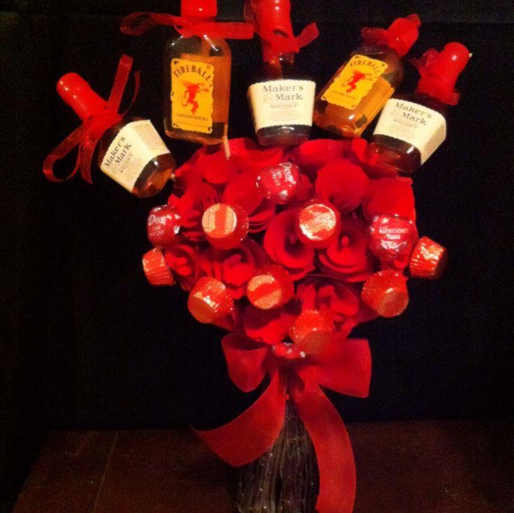 valentine's day wine basket ideas