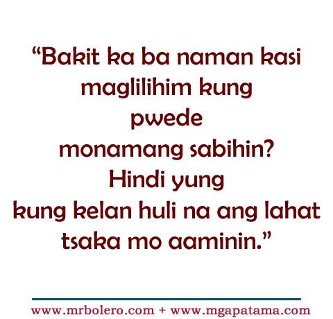 patama tagalog quotes move on quotes tagalog love