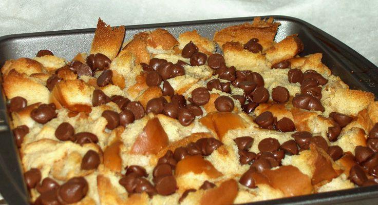 Chocolate Cinnamon Bread Pudding (minus the chocolate)