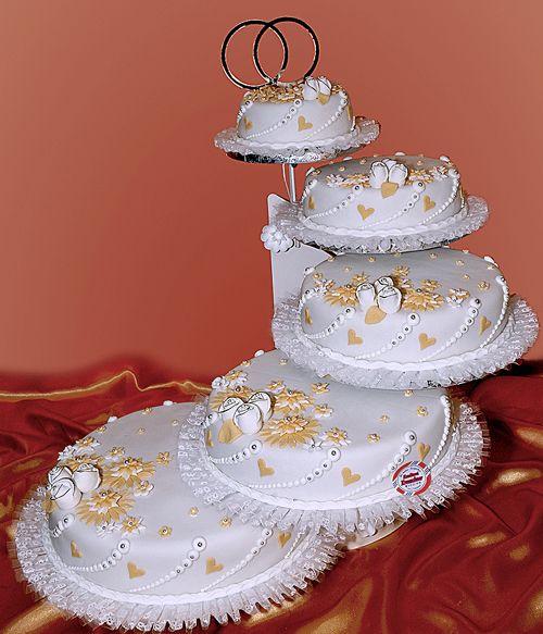 Hochzeitstorte 5 Etagen  Cakes to die for  Pinterest