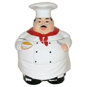 Jolly Chef Cookie Jar | caught with your hand in my cookie jar | Pint ...