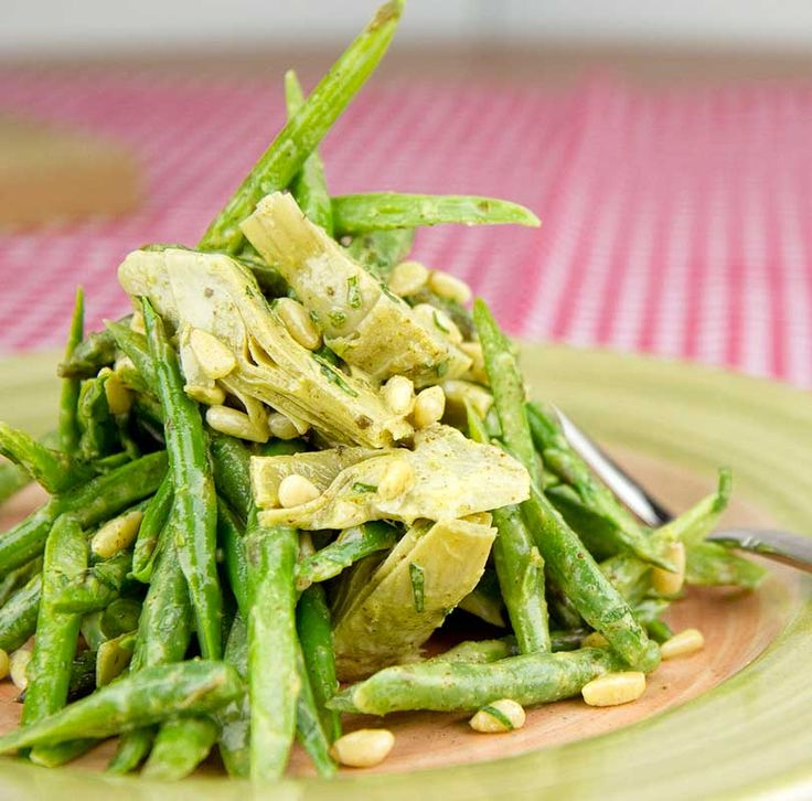 More like this: asparagus salad , artichokes and asparagus .