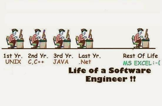 La vida del ingeniero de software