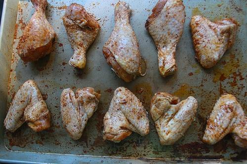 Peppery Chicken Wings | AAA-Meals | Pinterest