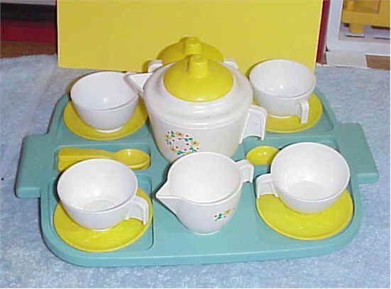 Oh So Adorable Vintage Tea Set : ... tea set from the mid eighties. So cute. I wish we still had it