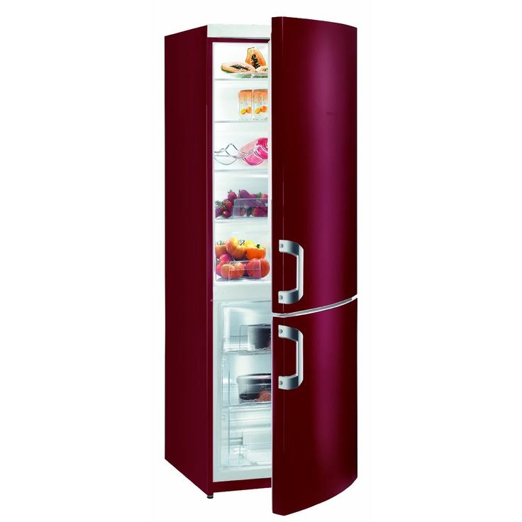 gorenje red fridge freezer home pinterest. Black Bedroom Furniture Sets. Home Design Ideas