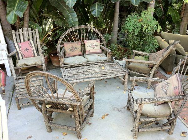 outdoor furniture courtesy of craigslist southwestern