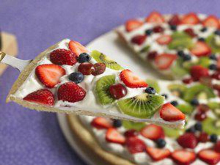 Fruit pizza | cupcakes and food | Pinterest