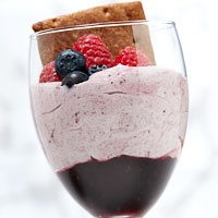 Mixed Berry Fool recipe | Sweets | Pinterest