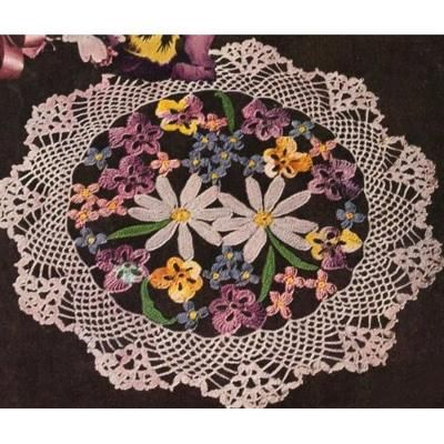 Love Of Crochet Com : Love Of Crochet Pansies Crochet Pinterest