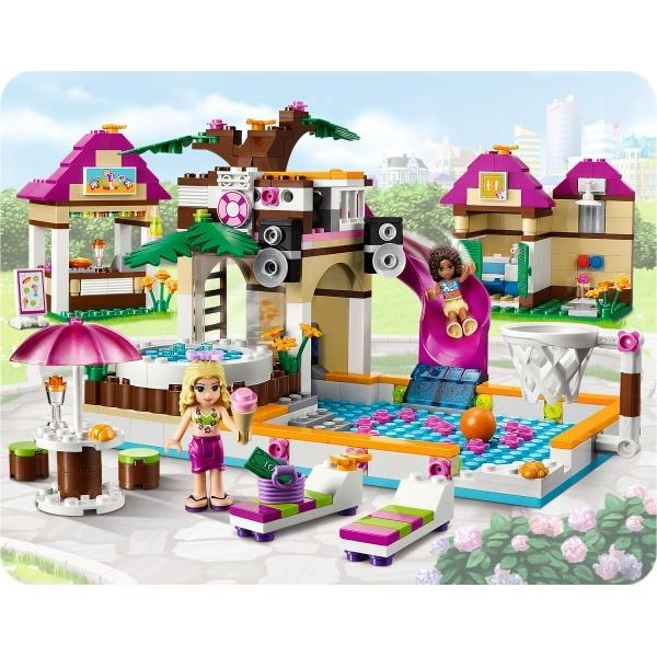lego friends heartlake city pool 41008 for beth pinterest. Black Bedroom Furniture Sets. Home Design Ideas