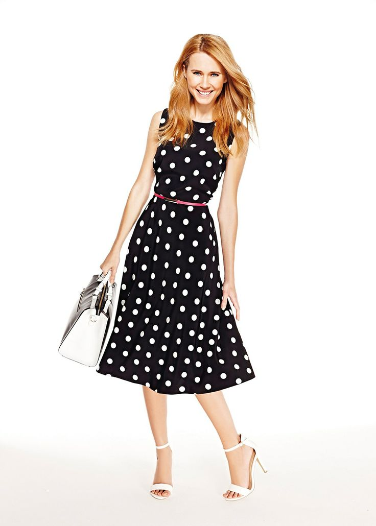 Belted Swing Dress Matalan Clothes Style Pinterest