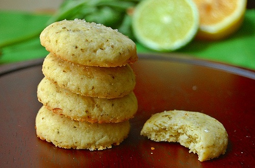 Citrus Basil Butter Cookies | I'm not a sweets person at all! | Pinte ...