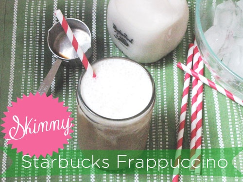 The Starbucks Frappuccino Gets Skinny! #RecipeRehab #LowCal #Coffee # ...